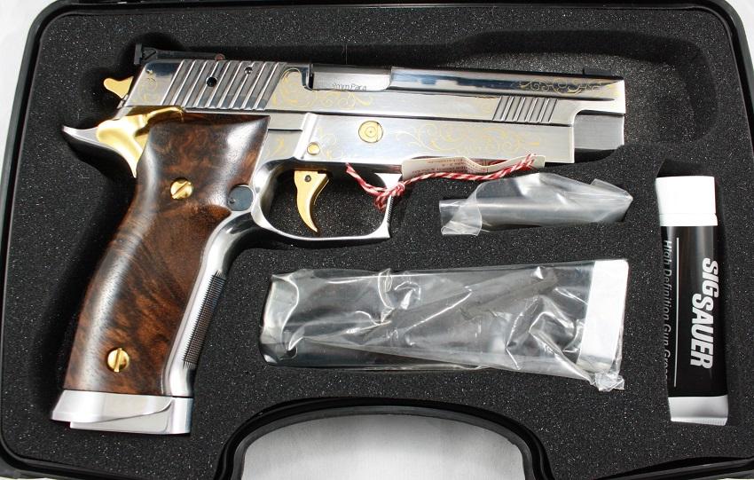 Sig Sauer Mastershop Prestige Exclusivmodell P226 X-Five Heritage Gold angeboten von B&H Waffenhandel
