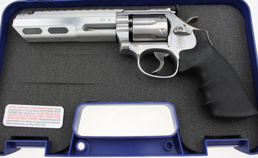 Smith & Wesson S&W Mod. 617 Universal Champion .22lr angeboten von B&H Waffenhandel