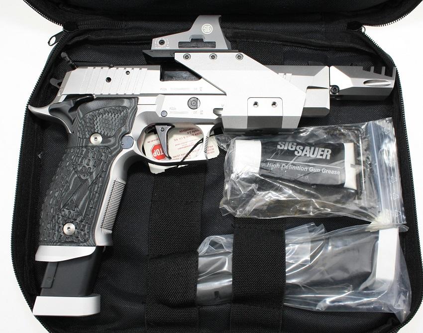 Sig Sauer P226 X-Five Open X5 X-5 mit Romeo 3 Visier angeboten von bh-waffenhandel.de