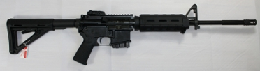 Sig M400 Enhanced Carbine in schwarz