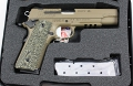 Sig 1911 FDE beschichtet Hogue G10 Piranha Griffschalen