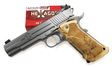 Sig-Sauer Stainless Super Target Pistole 1911