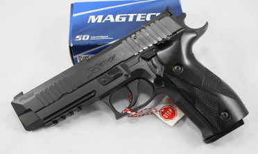 Pistole Sig Sauer P226 X-Five Allround Black-Edition schwarz PVD beschichtet