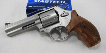 Smith und Wesson 686 Security Special mit 4 Zoll Lauf