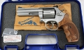 Smith & Wesson S&W 686 Security Spezial Revolver mit Waffenkoffer
