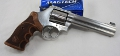 Smith & Wesson S&W 686 Magnum Deluxe Match Master stainless steel poliert